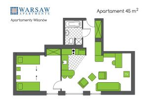 Warsaw Apartments Apartamenty Wilanów