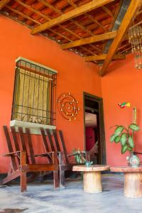 Casa Rural Aroma de Campo, Bed and Breakfasts  Curubandé - big - 26