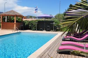 Hôtel de la Vierge Noire, Hotel  Sainte-Maxime - big - 43