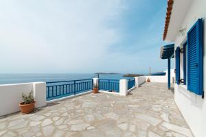sunsetview1 studios Andros Greece