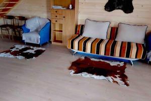 Urokliwy drewniany dom z widokiem na Tatry