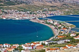 Studio apartment in Novalja with sea view terrace air conditioning WiFi 35653