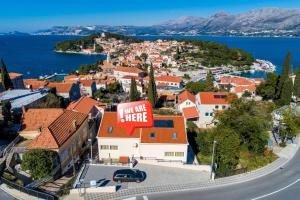Apartment in Cavtat with sea view, terrace, air conditioning, WiFi 4979-1