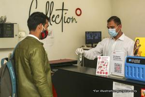 Vaccinated Staff- Collection O 24815 Kolkata Airport, Szállodák  Salua - big - 22
