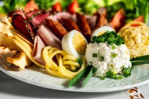 Willa Izydor widok na Tatry pyszne posiłki
