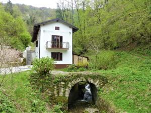 Hiša ob potoku