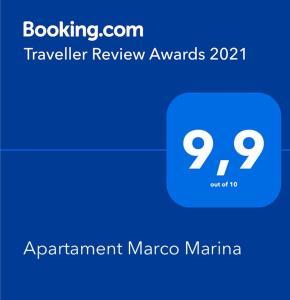 Apartament Marco Marina