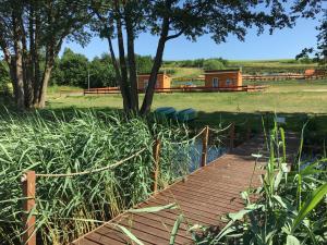 Siedlisko nr 4E i 4F nad jeziorem Skarlińskim jezioro mazury domki letniskowe bania