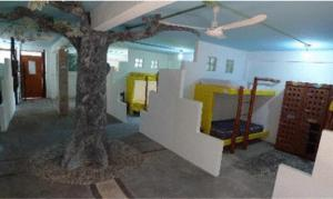Single Bed in Mixed Dormitory Room with 5 Beds Hostal Mayapan Cancun