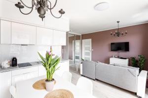 Apartament Anna Kwartał Róży Wiatrów 15 min spacerem od plaży