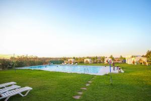 Appartement neuf avec piscine et jardin BIO, excursions QUADS