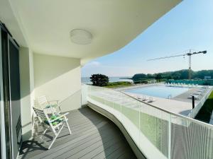 MorzeJEZIOROLas luksusowy apartament Rogowo Pearl