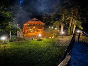 Domek nad jeziorem u Górnika