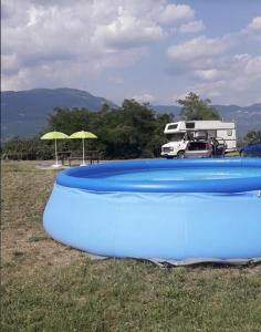 Wild Camping in Vipava Valley