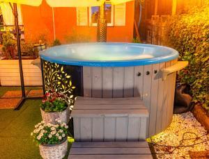 Domek InoSasino z basenem i sauną