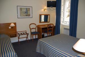 Le Terminus des Pèlerins, Hotel  Rocamadour - big - 32