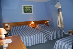 Le Terminus des Pèlerins, Hotel  Rocamadour - big - 38