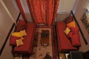 Suite with Fireplace - Attic
