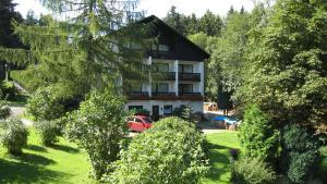 3 hvězdičkový hotel Landhaus Am Forst Bad Alexandersbad Německo