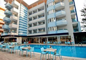 Kleopatra Ramira Hotel - All Inclusive, Szállodák  Alanya - big - 48