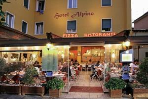 Hotel Alpino, Szállodák  Malcesine - big - 118