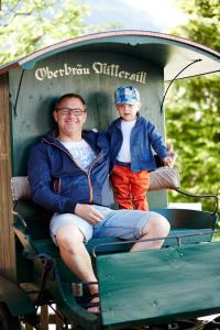 Pension Oberbräu, B&B (nocľahy s raňajkami)  Mittersill - big - 18