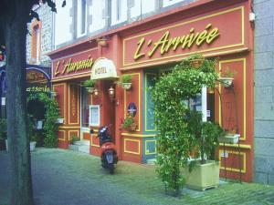 Hotel De L'arrivée, Hotels  Saint-Brieuc - big - 15