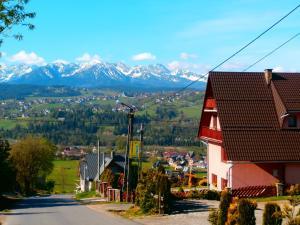 Pokoje z widokiem na Tatry