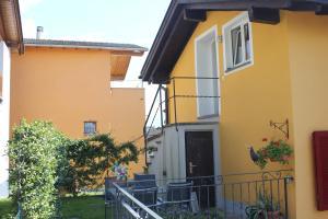 Chata Casa Gialla Gordola Švýcarsko