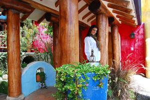 La Casa Sol Andean Lodge, Guest houses  Otavalo - big - 23
