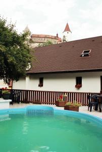 3 hvězdičkový penzion Penzion v Budech Křivoklát Česko
