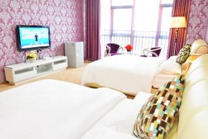 Mahattan International Apartment, Ferienwohnungen  Guangzhou - big - 26