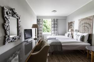 Klækken Hotel, Hotel  Hønefoss - big - 43