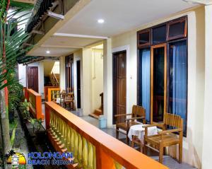 Auberges de jeunesse - Kolongan Beach Indah Hotel