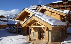 Location gîte, chambres d'hotes Odalys Chalet Prestige Lodge dans le département Isère 38