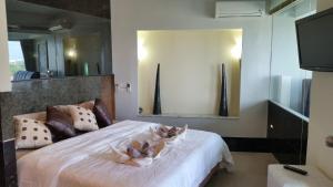 Penthouse Galare Thong Tower, Apartmány  Chiang Mai - big - 9