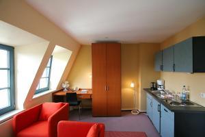 Hotel Verdi, Penzióny  Rostock - big - 13
