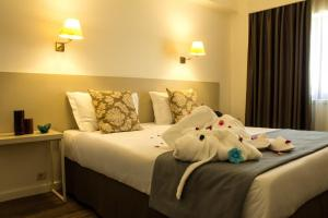 Hotel Black Tulip - Porto Gaia, Szállodák  Vila Nova de Gaia - big - 31