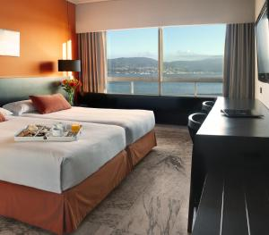 Sercotel Bahia De Vigo hotel,  Vigo, Spain. The photo picture quality can be variable. We apologize if the quality is of an unacceptable level.