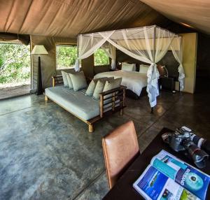 Honeyguide Tented Safari Camps, Luxusní stany  Rezervace Manyeleti - big - 33