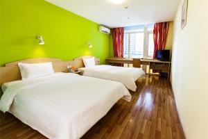 Hostels und Jugendherbergen - 7Days Inn Yantai Huangshan Road