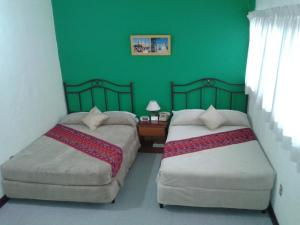 Double Room with Two Double Beds Hotel Casa Flores de Tikal