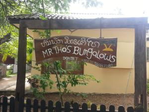 Mr Tho's Bungalows, Penziony  Don Det - big - 50