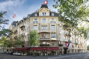 Small Luxury Hotel Ambassador Zurich, Hotely  Curych - big - 1
