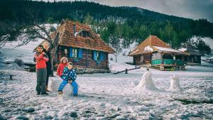 Ethno Bungallows Boškova Voda, Horské chaty  Zlatibor - big - 132