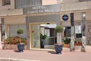 Hôtel Comté de Nice, Hotely  Beaulieu-sur-Mer - big - 81