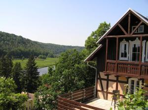 Wehlener Landhaus in Stadt Wehlen, Sächsische Schweiz - Struppen-Siedlung