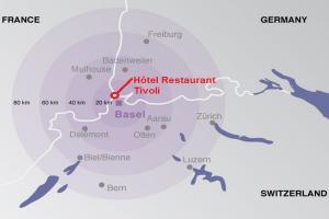 Hôtel Restaurant Tivoli - Basel Airport.  Foto 17