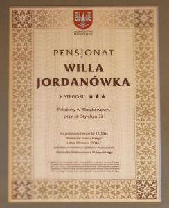 Willa Jordanówka