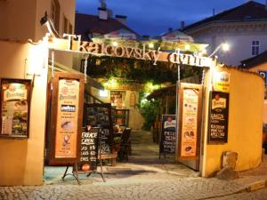 Apartments & Restaurant Tkalcovsky dvur - Prag